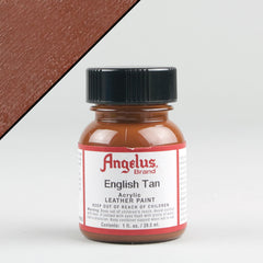 Angelus Leather Paint 1oz - English Tan - Street Lab UK