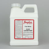 Angelus Leather Paint Pint (472ml) - Flat White - Street Lab UK