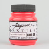 Jacquard Textile 2.25oz - Fluorescent Red - Street Lab UK