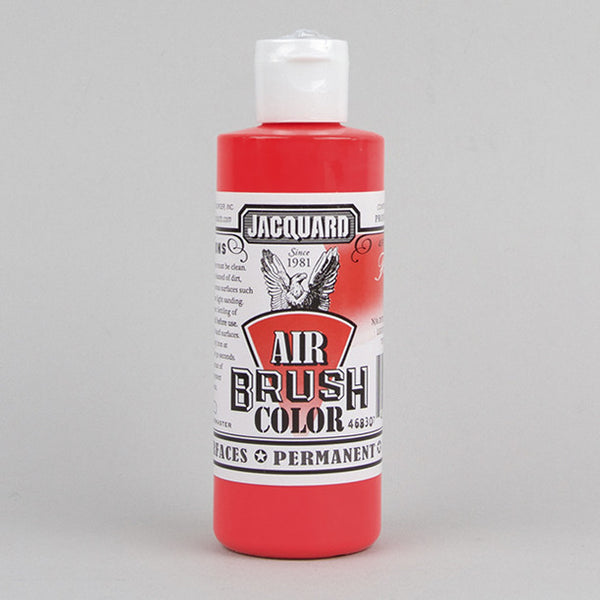 Jacquard Airbrush 4oz - Fluorescent Red - Street Lab UK