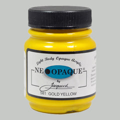 Jacquard Neopaque 2.25oz - Gold Yellow - Street Lab UK