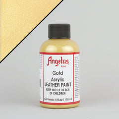 Angelus Leather Paint 4oz - Gold - Street Lab UK