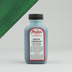 Angelus Leather Paint & Dyes - Green Leather Dye 3oz - Street Lab UK