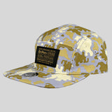 Cast Shadow Global Camo 5 Panel Cap - Grey - Street Lab UK - 2