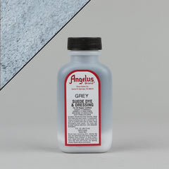 Angelus Leather Paint & Dyes - Grey Suede Dye 3oz - Street Lab UK