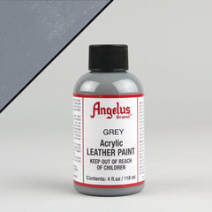 Angelus Leather Paint 4oz - Grey - Street Lab UK