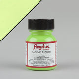 Angelus Leather Paint 1oz - Grinch Green - Street Lab UK