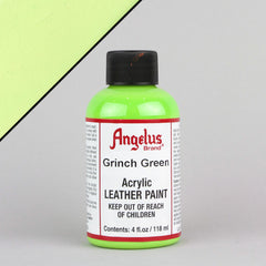 Angelus Leather Paint 4oz - Grinch Green - Street Lab UK