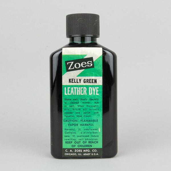 Zoes Leather Dye 74ml (2.5oz) - Kelly Green - Street Lab UK