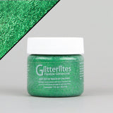 Angelus Glitterlites Leather Paint - Kelly Green 1oz - Street Lab UK