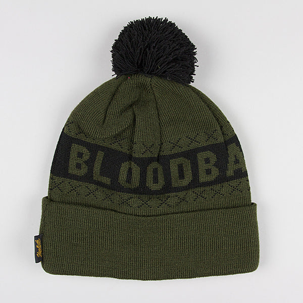 Bloodbath The Kill Beanie - Olive - Street Lab UK - 1