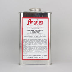 Angelus Leather Paint & Dyes - Leather Preparer & Deglazer Pint (472ml) - Street Lab UK