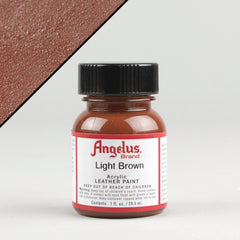 Angelus Leather Paint 1oz - Light Brown - Street Lab UK