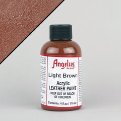Angelus Leather Paint 4oz - Light Brown - Street Lab UK