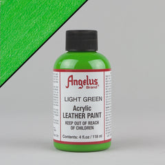 Angelus Leather Paint 4oz - Light Green - Street Lab UK