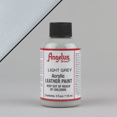 Angelus Leather Paint 4oz - Light Grey - Street Lab UK