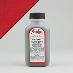 Angelus Leather Paint & Dyes - Mahogany Leather Dye 3oz - Street Lab UK