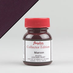 Angelus Leather Paint Collector Edition 1oz - Maroon - Street Lab UK