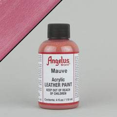 Angelus Leather Paint 4oz - Mauve - Street Lab UK