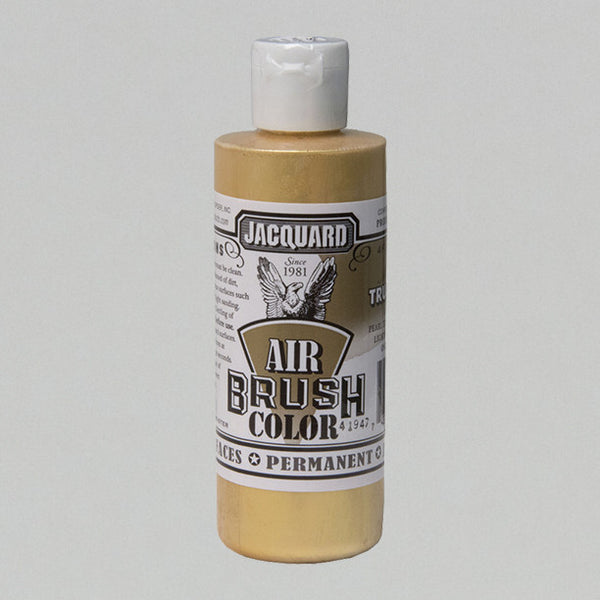 Jacquard Airbrush 4oz - Metallic True Gold - Street Lab UK