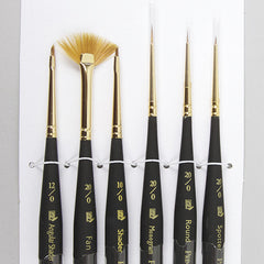 Princeton Micro Detail 6 Paint Brush Set - Street Lab UK - 1