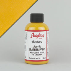 Angelus Leather Paint 4oz - Mustard - Street Lab UK