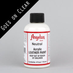 Angelus Leather Paint 4oz - Neutral - Street Lab UK