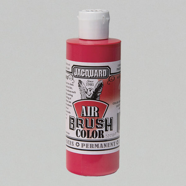 Jacquard Airbrush 4oz - Opaque Red - Street Lab UK
