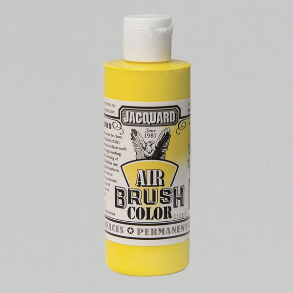Jacquard Airbrush 4oz - Opaque Yellow - Street Lab UK