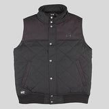 Bloodbath Ozark Quilted Vest/Gilet - Black - Street Lab UK - 1