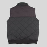 Bloodbath Ozark Quilted Vest/Gilet - Black - Street Lab UK - 4