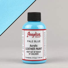 Angelus Leather Paint 4oz - Pale Blue - Street Lab UK