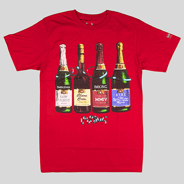 IMKING Party Time T-Shirt - Red - Street Lab UK - 1