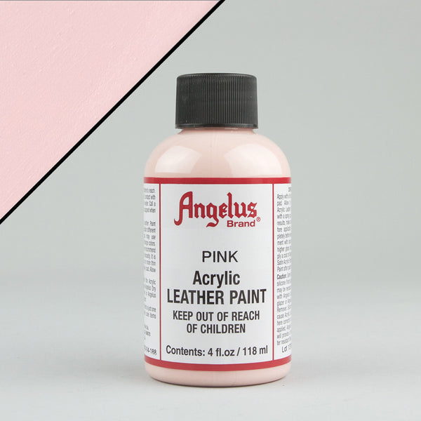 Angelus Leather Paint 4oz - Pink - Street Lab UK