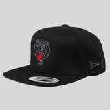 Bloodbath Prey Snapback Cap - Black & Black - Street Lab UK - 2