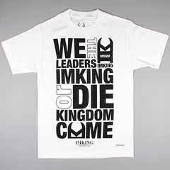 IMKING Provervs T-Shirt - White - Street Lab UK - 1