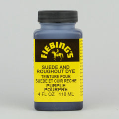 Fiebing's Suede & Roughout Dye 118ml (4oz) - Purple - Street Lab UK