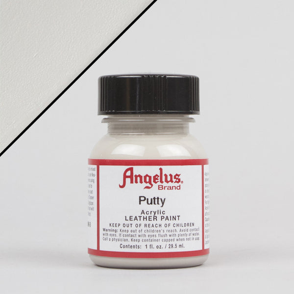Angelus Leather Paint 1oz - Putty - Street Lab UK