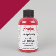 Angelus Leather Paint 4oz - Raspberry - Street Lab UK
