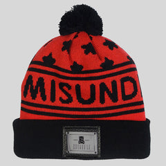 Entree Misunderstood Stars Beanie - Red - Street Lab UK - 1