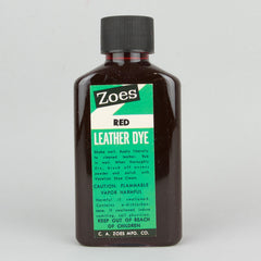 Zoes Leather Dye 74ml (2.5oz) - Red - Street Lab UK