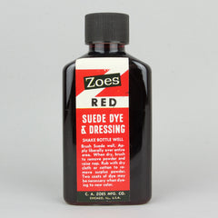 Zoes Suede Dye 74ml (2.5oz) - Red - Street Lab UK