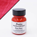 Angelus Leather Pearlescent Paint 1oz - Riot Red