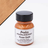 Angelus Leather Pearlescent Paint 1oz - Rose Gold