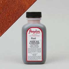 Angelus Leather Paint & Dyes - Rust Suede Dye 3oz - Street Lab UK