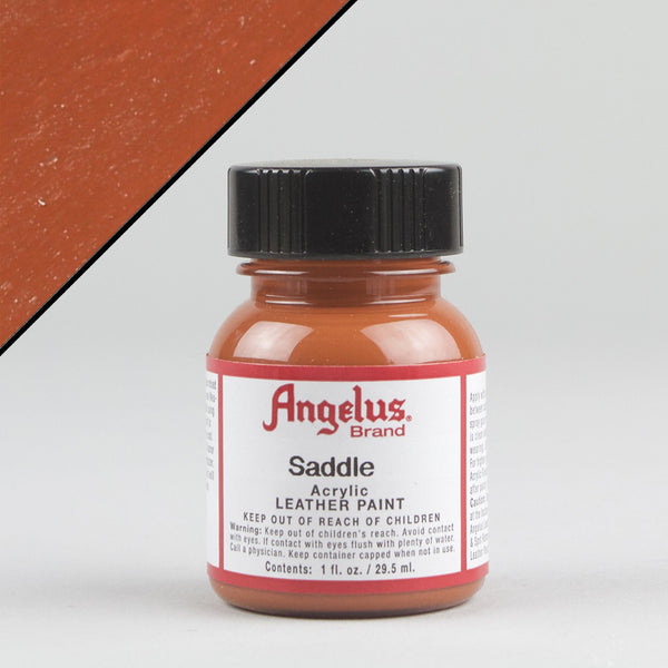 Angelus Leather Paint 1oz - Saddle - Street Lab UK