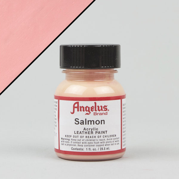 Angelus Leather Paint 1oz - Salmon - Street Lab UK