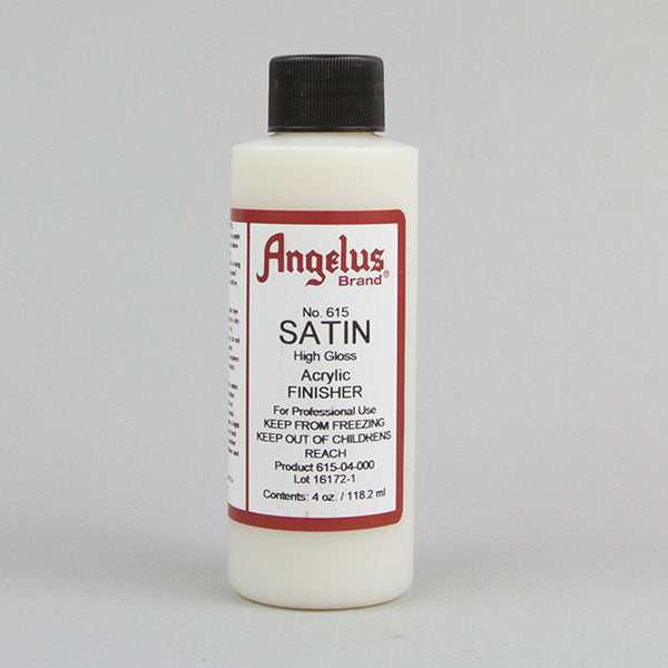 Angelus Leather Paint & Dyes - Satin High Gloss Finisher 4oz - Street Lab UK