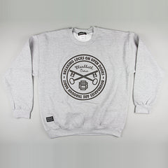 Bloodbath Seal Crewneck Sweater - Grey - Street Lab UK - 1