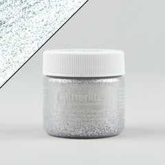 Angelus Glitterlites Leather Paint - Silver Spark 1oz - Street Lab UK